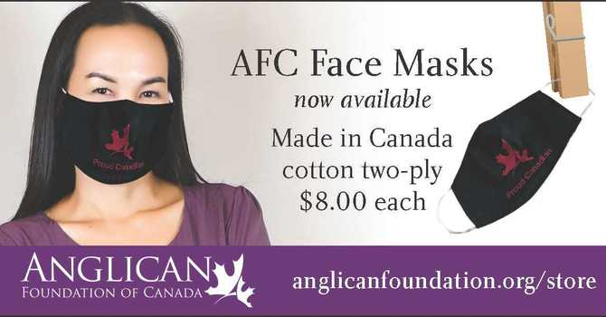 Anglican Foundation Cloth Masks image