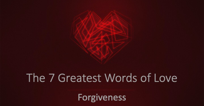 The Word Of Forgiveness