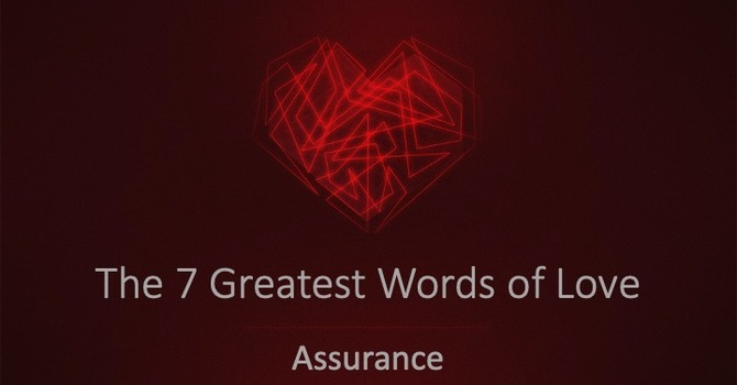The Word Of Assurance