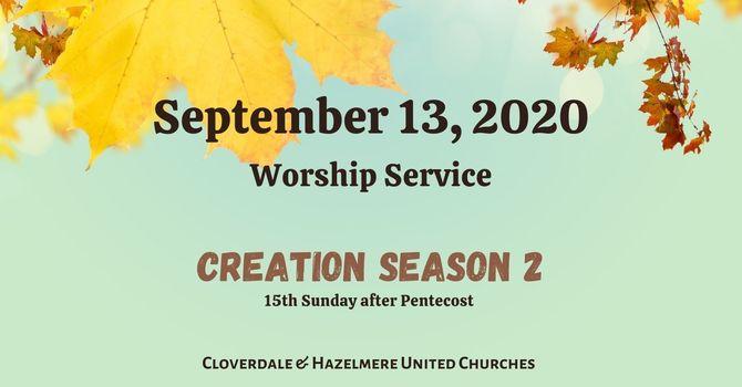 September 13, 2020 Worship Service image