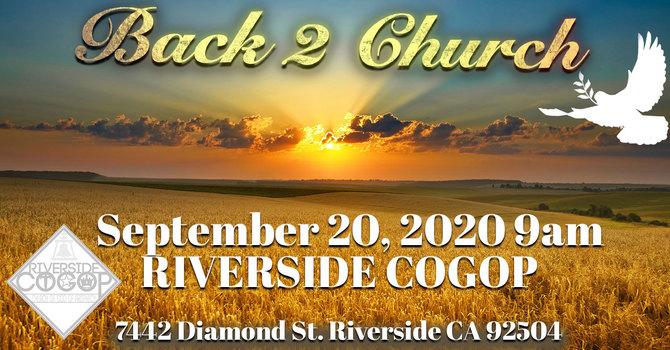 Back 2 Church image