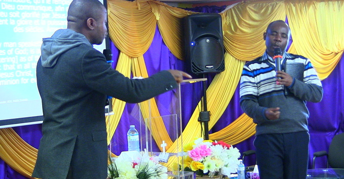 Gift and Talent Day Two - Past Faustin interpreted by Elder Martin Part 2