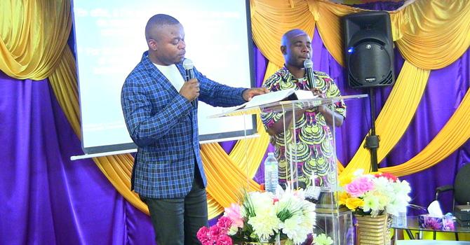 Karama za roho mtakatifu - Pastor Faustin interpreted by Bro Martin Bongwa Part 2