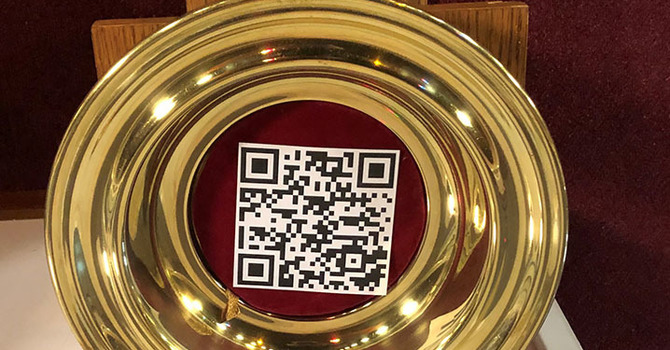 QR Code for the Offertory