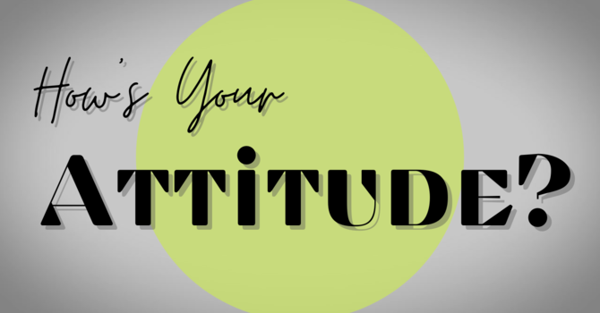 How's Your Attitude?