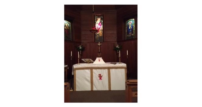Temporarily Suspended   Sunday Eucharist Service