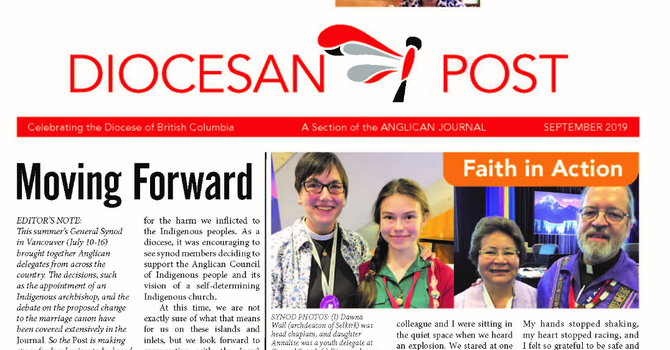 Sept 2019 Diocesan Post image