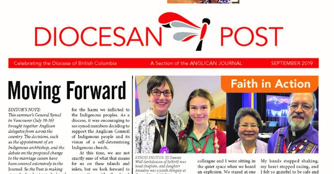 Sept 2019 Diocesan Post
