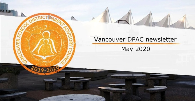 Vancouver DPAC Newsletter - May 2020 image