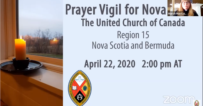 Prayer Vigil for Nova Scotia