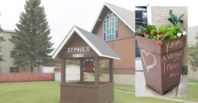 St. Paul's, Leduc Offers Community Vegetable Planters image