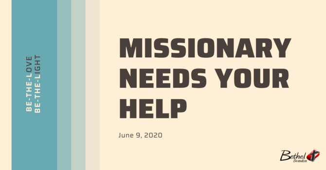 A Need in Missions image
