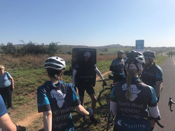 CYCLING FOR THE WORD