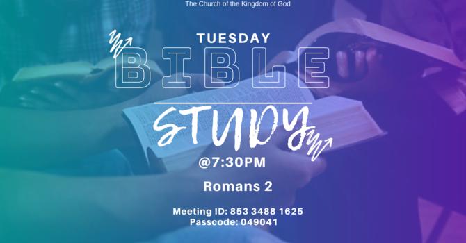 Zoom Bible Study image