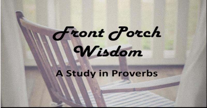 Front Porch Wisdom