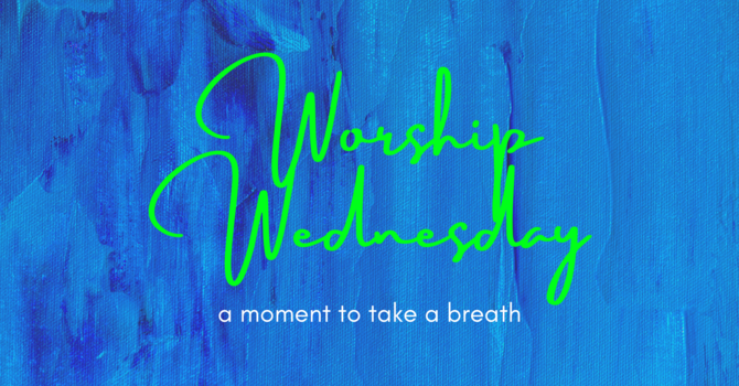 Worship Wednesday: For When You Realize the Tension You're Holding image