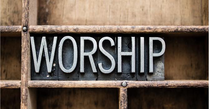Worship April 5 image