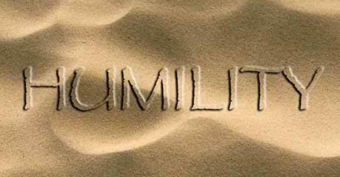 Greatness Humility & Servanthood