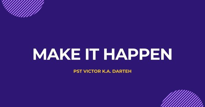 Make It Happen image