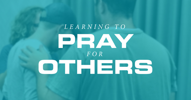 Learning to Pray for Others