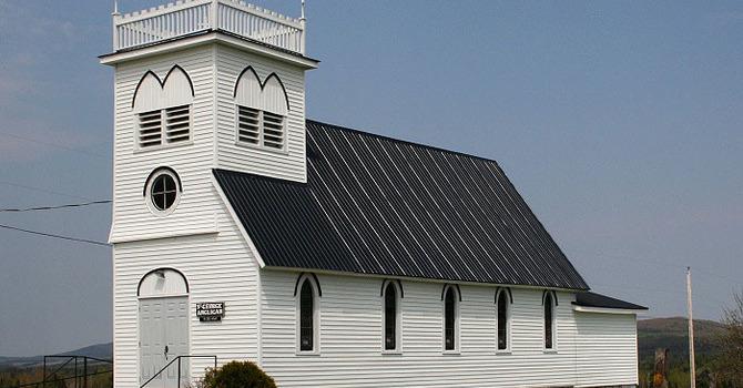 Former St. George's Church, Lake Edward