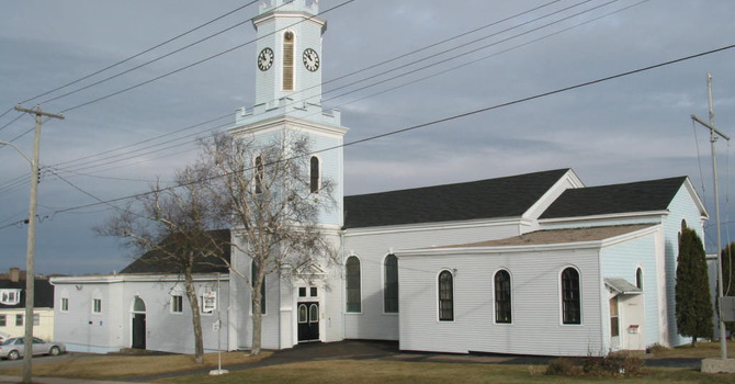 Former St. George's Church, Saint John