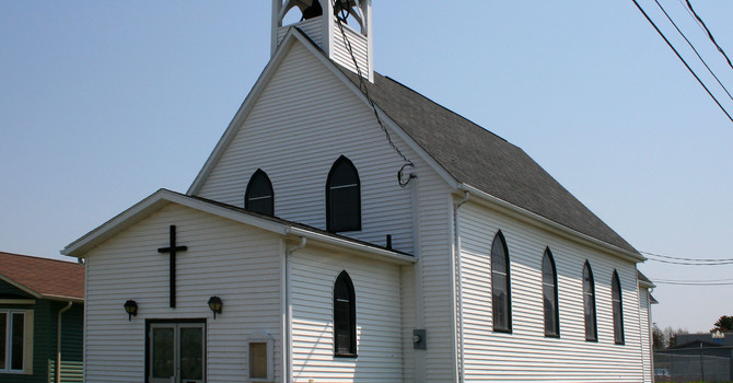 Former All Saints, Grand Falls