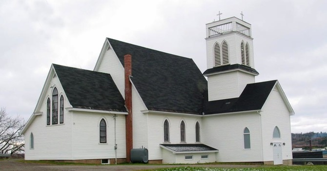 Former St. George's Church, Plaster Rock
