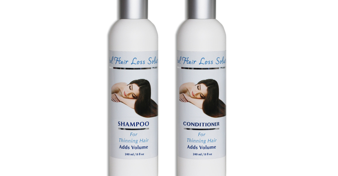 Shampoo & Conditioner for Thinning Hair