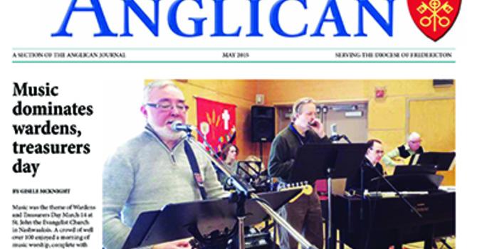 New Brunswick Anglican May 2015 image