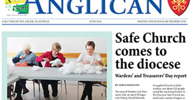 New Brunswick Anglican June 2016 image