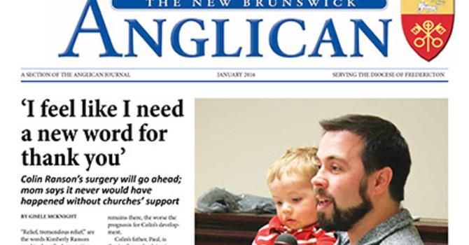 New Brunswick Anglican January 2016 image