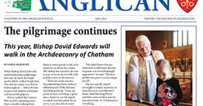 New Brunswick Anglican May 2016 image