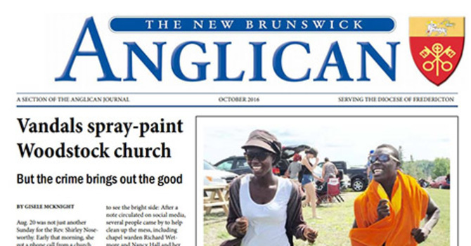 New Brunswick Anglican October 2016 image