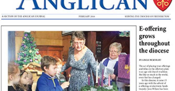 New Brunswick Anglican February 2016