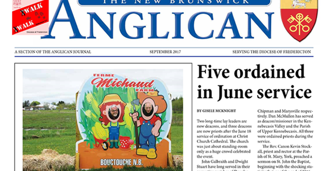 New Brunswick Anglican September 2017 image
