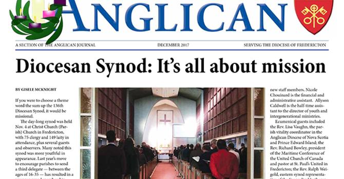 New Brunswick Anglican December 2017