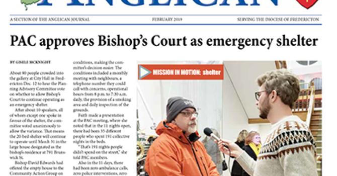 New Brunswick Anglican February 2019 image