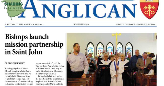 New Brunswick Anglican November  2018 image