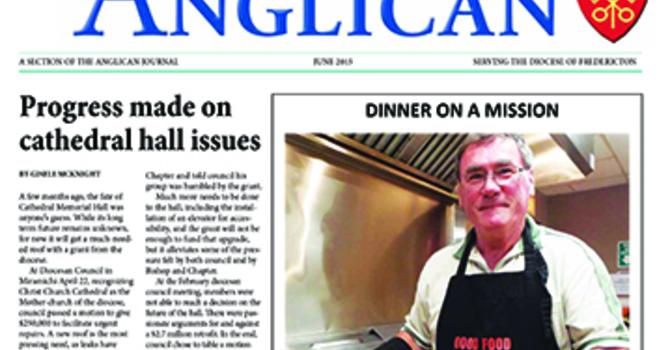 New Brunswick Anglican June 2015 image