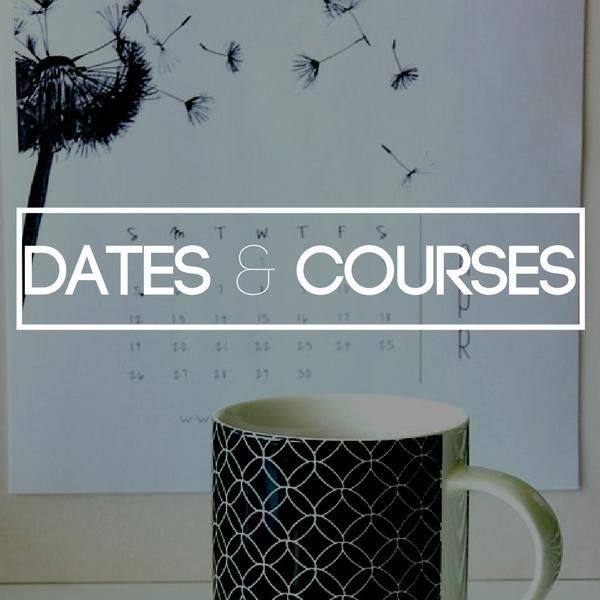 Dates & Courses