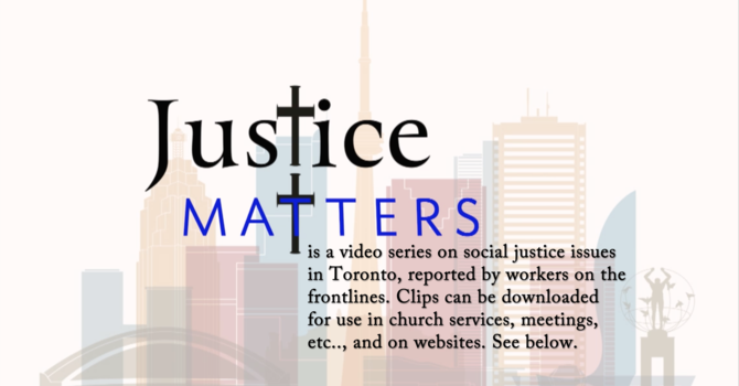Justice Matters - Episode One image