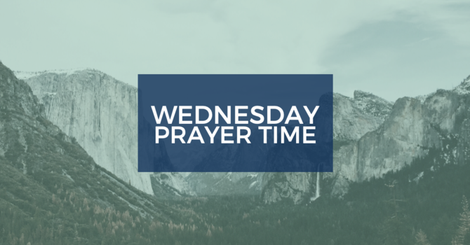 Wednesday Prayer Time