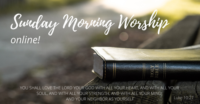 Info for Sunday worship image