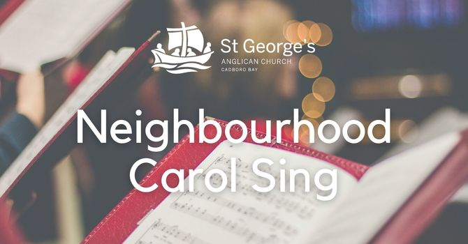 Neighbourhood Christmas Carol Sing