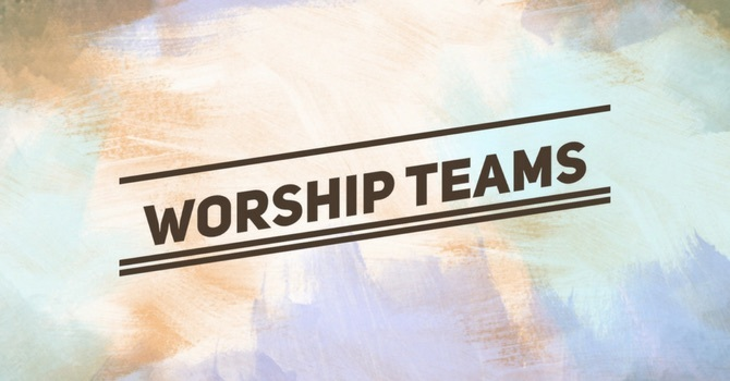 Worship Team Schedule