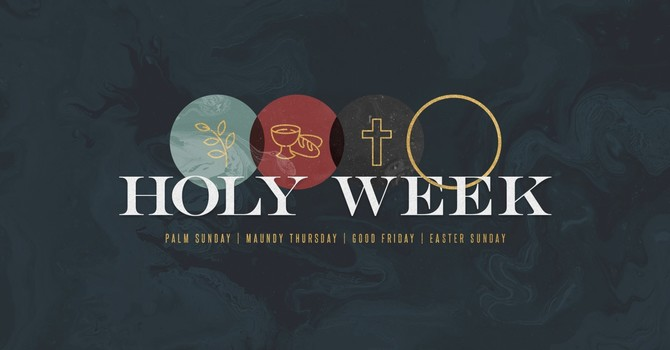 Holy Week Scriptures Passages image