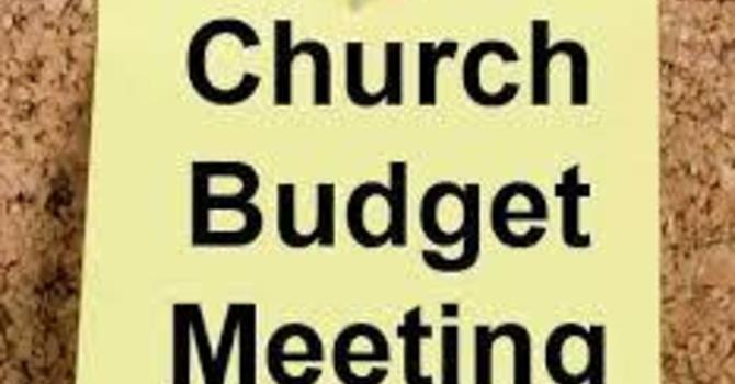2021 Budget Business Meeting