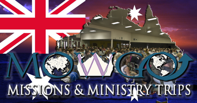 Australia Missions Trip