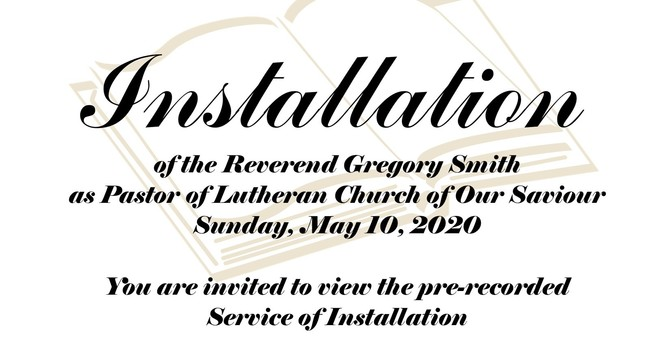 Installation of the Reverend Gregory Smith image